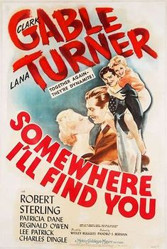Somewhere I'll Find You, 1942 Old Movie Posters, Classic Movie Posters, Classic Movies, Film Posters, Old Movies, Vintage Movies, Best Mysteries, Film Movie, Cinema Movies