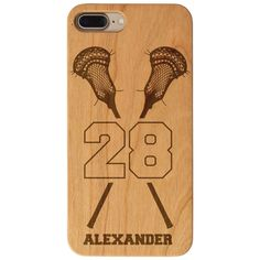 Show off your love for lacrosse with one of our wood engraved iPhone® cases which make the perfect gift for any sport player, fan or parent. Cool Phone Cases, Iphone Cases, Cell Phone Plans, Samsung, Iphone Models, Lacrosse, Iphone 8 Plus, How To Find Out, Cherry