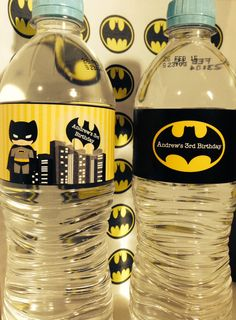 Batman Party Supplies Archives - Batman Printables - Ideas of Batman Printables - Batman Party PRINTABLE Water Labels by Love this Moment Party Batman Party Ideas of Batman Party Batman para imprimir fiesta etiquetas agua por LovethisMomentParty 4th Birthday Parties, Happy Birthday Banners, Batman Cupcake, Batman Party Supplies, Baby Batman, Batman Batman, Batman Birthday, King Birthday, 3rd Birthday