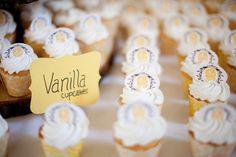 DIY Handmade Barn Wedding Cupcake