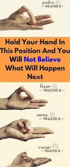 HOLD YOUR HAND IN THIS POSITION AND YOU WON'T BELIEVE WHAT WILL HAPPEN NEXT