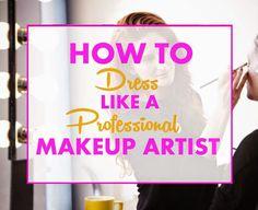 Becoming a Makeup Artist: Makeup Artist Dress Code & Hygiene - business Makeup Artist Quotes, Makeup Artist Tips, Freelance Makeup Artist, Wedding Makeup Artist, Professional Makeup Artist, Hair And Makeup Artist, Makeup Artists, Makeup Quotes, Make Up Dupes
