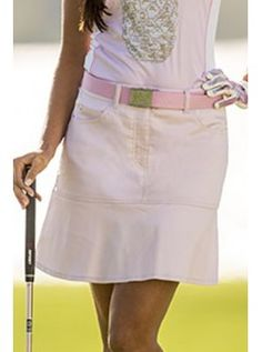 "Daily Sports USA Women's Holiday Swing Chintz 18"" Golf Skort-Pink"