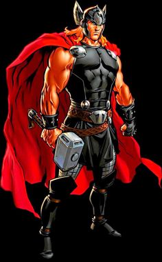 Pictures of avengers thor - Asgard Marvel, Marvel Avengers Comics, Marvel Comic Universe, Marvel Art, Marvel Heroes, The Mighty Thor, Marvel Characters, Thunder, Avengers Alliance