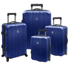 Travelers Choice New Luxembourg 4 Piece Hard Shell Luggage Collection Review