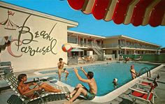 I recently stumbled upon an incredible archive of old memorabilia including ads, coloring books, catalogs, and magazines. I especially loved the collection of vintage postcards from hotels and motels from all over North America. Didn't they seem somewhat glamorous back then?