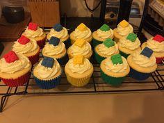Adam's 18th LEGO cupcakes