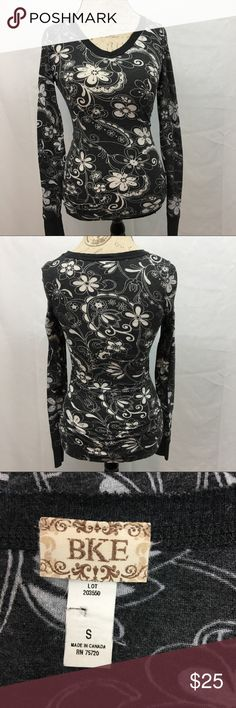 """BKE Long Sleeve Floral Top BKE long sleeve floral top. NWOT. No flaws. Size S. Armpit to armpit 16"""". Shoulder to bottom hem 26"""". BKE Tops"""