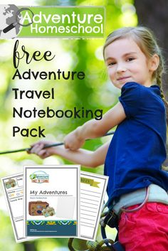 Free adventure travel notebooking pack for homeschool will come in handy for recording summer memories and field trips. Make the most of your adventures! Hands On Learning, Learning Activities, Activities For Kids, Homeschool High School, Homeschool Curriculum, Homeschooling, Florida Adventures, Unit Studies, 31 Days