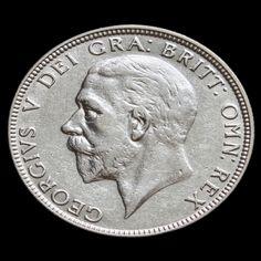 1929 George V Silver Florin - VF