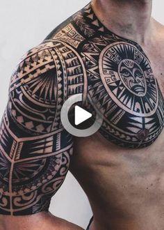 Ideas creativas   Mujeres tatuadas   Diseño creativo: tatuajes tribales para hombres: conmigo Tribal Tattoos For Men, Sleeve Tattoos For Women, Tattoos For Guys, Cool Tattoos, Tattoo Women, Forearm Sleeve Tattoos, Arm Tattoo, Japanese Sleeve Tattoos, Girl Sleeves