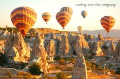 This was taken while i was in one of the hundreds of hot air balloons floating over goreme that early morning! Discovered by Ryan de los Reyes at Cappadocia, Nevşehir, Turkey