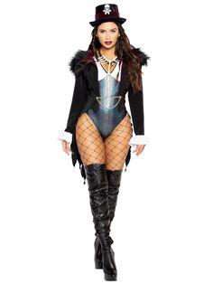 Ladies 3pc Voodoo Queen Sassy Costume