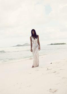 The LANE Tahitian Dreaming Editorial. Styling/Art Direction: Karissa Fanning. Model: Pia Miller. Location: Bora Bora. http://www.thelane.com/the-guide/fashion/editorial/tahitian-dreaming