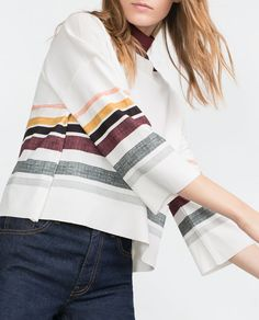 Image 4 of CROP TOP from Zara