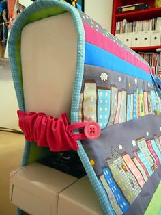 ellyn's place: tutorial sewing machine cover I like the side scrunchies