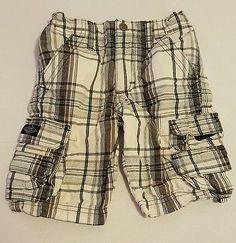 Boys Lee Dungarees Loose Black/White Plaid Cargo Shorts Size 5 Reg #132  eBay, Back to school shopping, Christmas Shopping