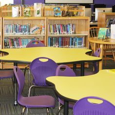 Academia, is America's foremost school furniture manufacturer, enhancing collaborative learning one classroom at a time. Modern Classroom, Classroom Design, Kids Table And Chairs, Kid Table, Cool Shapes, Effective Learning, School Furniture, Learning Environments, Furniture Manufacturers