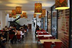 Cafetería de El Claustro.