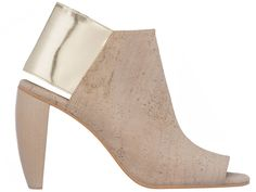 Made in L.A., Sydney Brown ethical shoes, awesome, cork, nude, neutral,