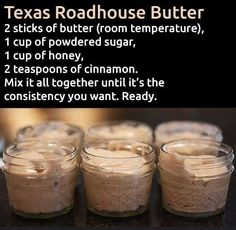 Texas Roadhouse butter | Valentines Day Gift Ideas