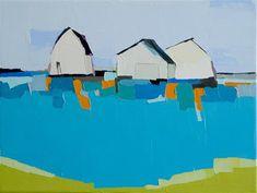 "Daily Paintworks - ""Watermark II"" - Original Fine Art for Sale - © Donna Walker"