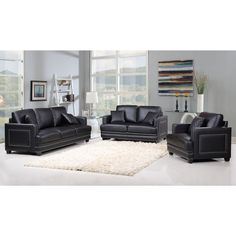 The Ferrara Living room set is an impeccable example of truly memorable, opulent contemporary design. Your Living room will be the height of dignified fashions with top quality materials & construction.