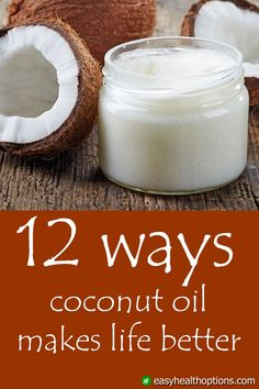 Unlike most other sources of saturated fat, coconut oil is made up primarily of medium-chain triglycerides (MCTs). These differences are part of the reason coconut oil has been credited with a wide range of health benefits. Here are 12 of them: