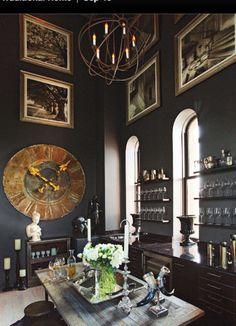 FleaingFrance Brocante Society gorgeous dark space (via Splendid Sass: )