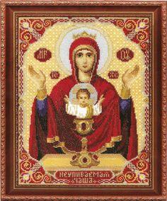 Схемы вышивки крестом пресвятая богородица
