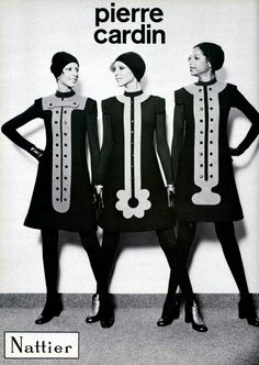 Pierre Cardin rocked the 1960s with sassy, sparky clothes #FashionFriday