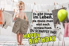 Geburtstagskarte und Sprüche für Kinder - Geburtstagssprüche-Welt