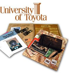 We did the coolest stuff for Toyota.  I love print.