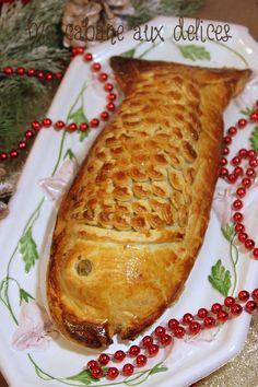 Feuilleté de saumon et sa fondue de poireaux | La cuisine de Djouza, recettes faciles et rapides