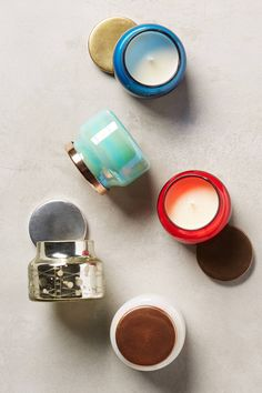 Mini Capri Blue Jar Candle | Pinned by topista.com