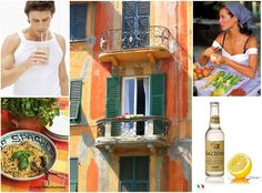 We are just drinking the famous Gazzosa lemonade, made with real lemons from the Amalfi coast!