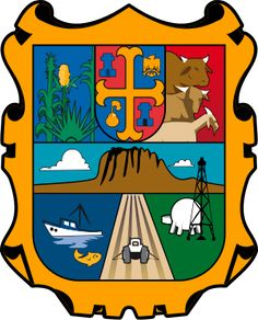 Coat of arms of Tamaulipas - Mexico