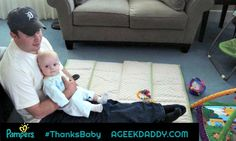A DAD'S FATHERS DAY THANK YOU TO HIS BABIES