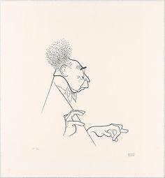 Artur Rubinstein Al Hirschfeld