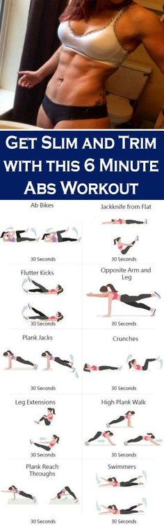 Lose belly fat 6 pack