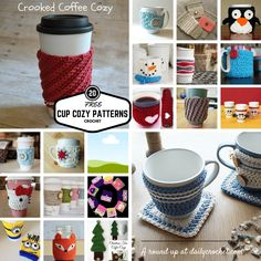 Have fun making a quick, easy and beautiful crochet cup cozy in just a few minutes.Cup cozies make awesome and thoughtful Christmas gifts and with a very low budget. Some of the cozies below are cute, some are serious, some will make you smile but all of them are quick and easy to make and …