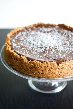 Cheesecake Noix de Coco & Chocolat - Source : Le grand livre Marabout de la Pâtisserie Facile [600 recettes]