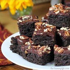 Brownies de calabacín
