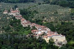 Collodi Italy (setting for Pinocchio, and the village where the author was from)
