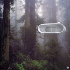 A portable capsule unit for nomadic living designed by Kyu Che Studio. More on…