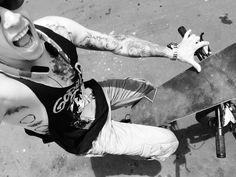 Bike and skate tattoos