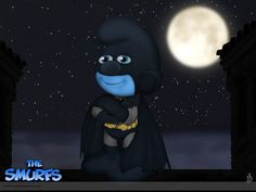 Bat Smurf