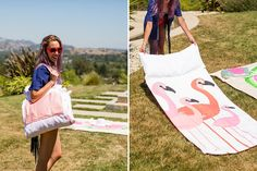 This Is the Best Beach Towel Hack You've Ever Seen via Brit + Co.