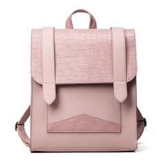55875a8a322e Vegan Leather Alligator Fashion Backpack