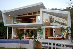 White House of Costa Rica, located in Playa Hermosa, Santa Teresa on the Pacific side of the Nicoya Peninsula.